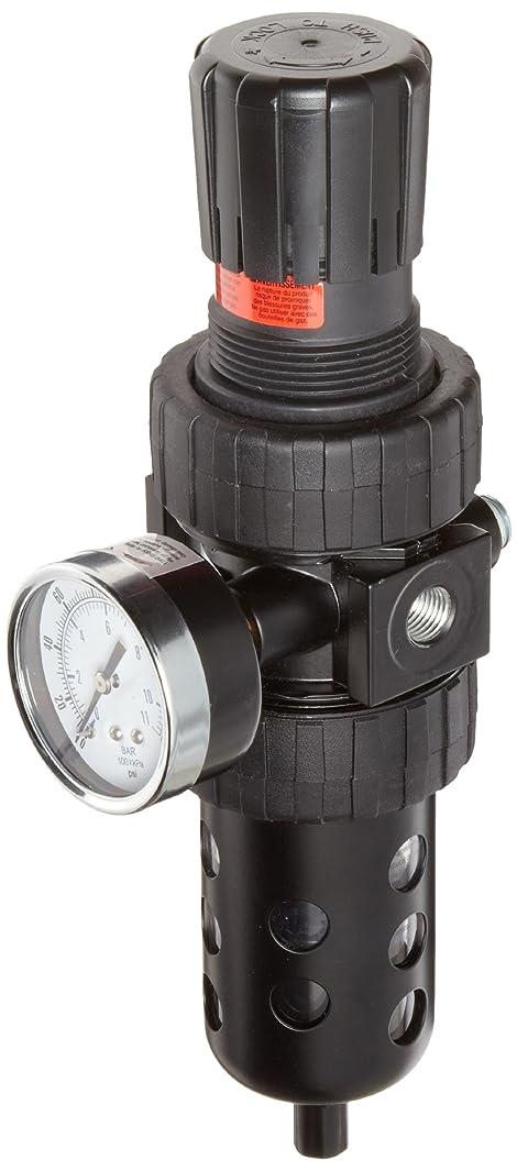 Parker 06E34A18AC One-Unit Combo Compressed Air Filter/Regulator, 1/2