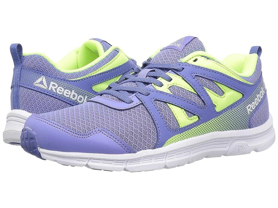 Reebok Kids Run Supreme 2.0 (Little Kid/Big Kid) (Lilac Glow/Lilac Shadow/Electric Flash) Girls Shoes