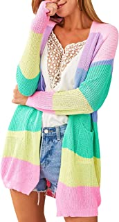 Best colorful cardigan sweater Reviews