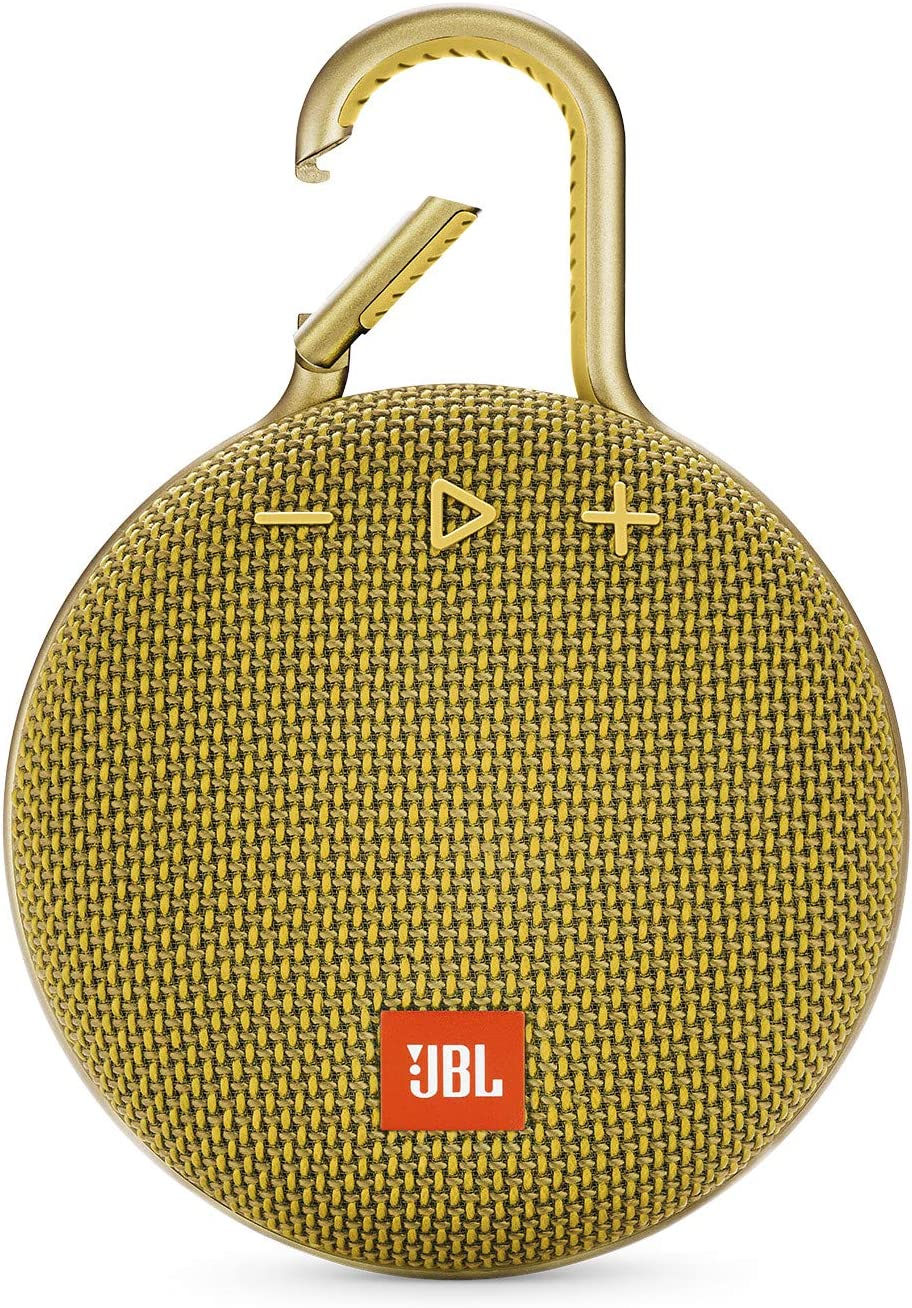 JBL safety CLIP 3 - Waterproof Yellow service Bluetooth Speaker Portable