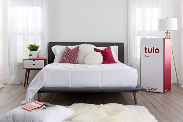 Mattress By Tulo Pick Your Comfort Level Firm Twin Size 10 Inch Bed In A Box Great For Sleep And Optimal Body Support