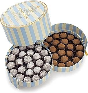 Charbonnel et Walker - Milk & Dark Sea Salt Caramel Truffles, Elegant Layered Box (1.125lbs)