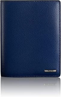 TUMI - Province Passport Cover Holder - Wallet for Men and Women - Blue