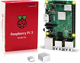 LoveRPi Raspberry Pi 3 B+ Computer with Heatsinks