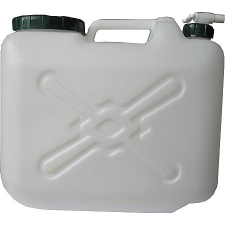 TS(ティーエス) 水缶 MDタンク20L コック付 ポリタンク 20L