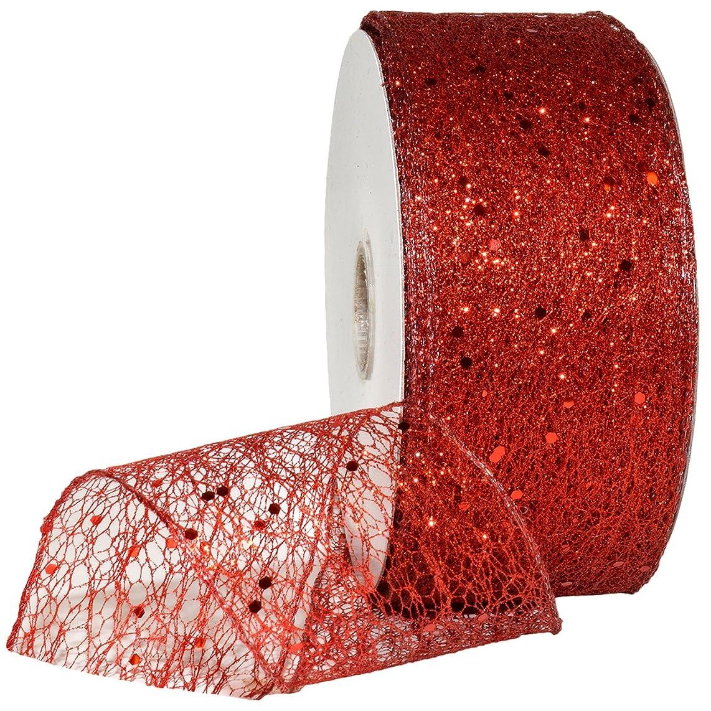 Morex Ribbon Olympus Ribbon, Red, 2-1/2