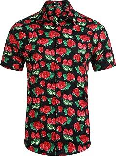 mens strawberry shirt