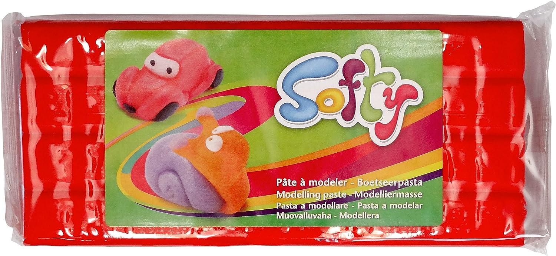 (Red)  DARWI 1Piece Clay Softy 500 GRS. RED, RED