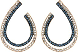 Swarovski - Lemon Hoop Pierced Earrings