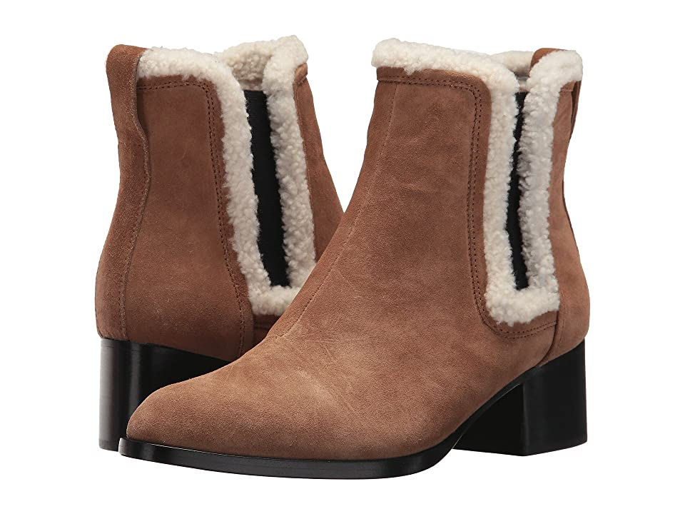 rag & bone Walker Boot (Camel/Shearling) Women