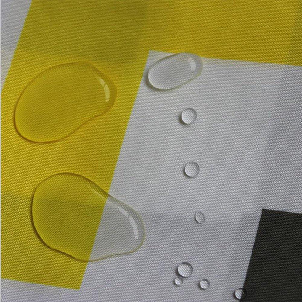 Chrasy Rideaux de Douche en Tissu /étanche Rideau de Douche Anti-Moisissure et Anti-bact/érien Salle de Bain Textile dans la Taille 180cm x 180cm
