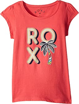 Roxy Kids - Moid Multi Palm Tree Tee (Toddler/Little Kids/Big Kids)