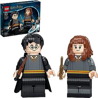 LEGO 76393 Harry Potter & Hermione Granger Figures Building Set, Large Collectible Gift Display Models
