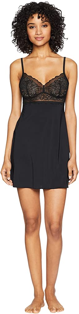 Carole hochman chemise with dot trim   Shipped Free at Zappos aae80f336fd