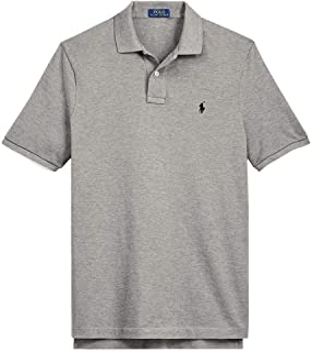 d43d1293bb8e Polo Ralph Lauren Polo Shirt Men s Big and Tall Pique Cotton Polo Shirt  (XLT