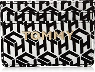 Tommy Hilfiger Iconic Card Case Holder, Black, AW0AW07847
