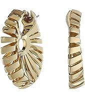 Miseno - Ventaglio 18k Gold Earrings