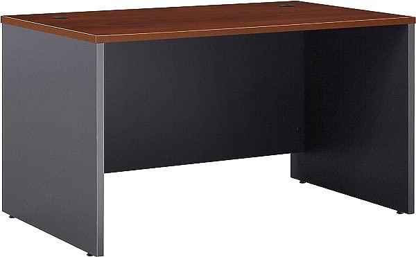 Bush Business Furniture Series C Collection 48W X 30D Shell Desk In Hansen Cherry