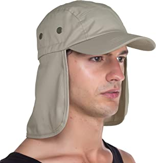 Top Level Fishing Sun Cap UV Protection - Ear and Neck Flap Hat