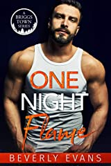 One Night Flame (A Briggs Town Series) Kindle Edition