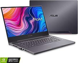 "ASUS ProArt StudioBook 15 Mobile Workstation Laptop, 15.6"" 4K UHD NanoEdge Bezel, Intel Core i7-9750H, 32GB DDR4, 512G+512..."