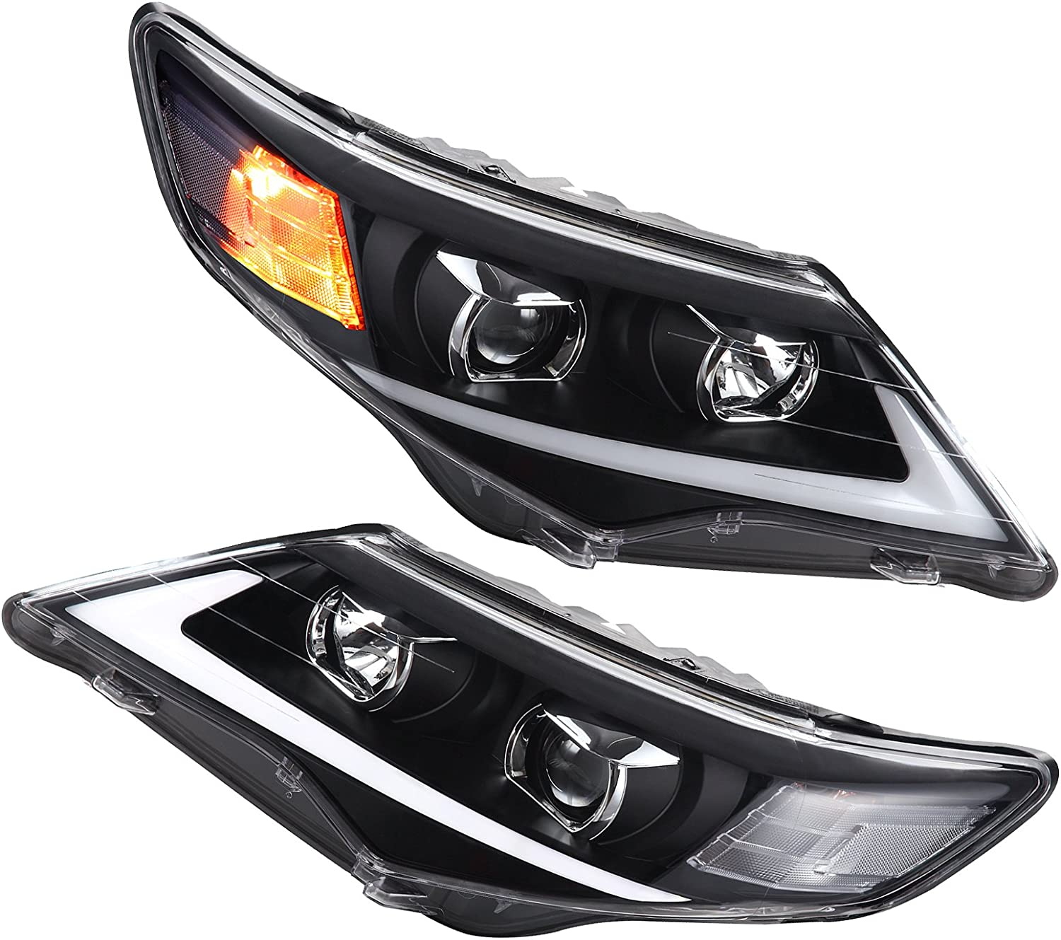 LSAILON For Max 48% OFF 2012 2013 2014 for TOYOTA Very popular Assembly Headlights Camry