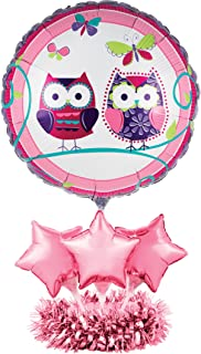 Creative Converting 049524 Balloon Centerpiece Kit, One Size, Purple/Pink