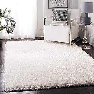 Safavieh FLK310A-8 Flokati Collection FLK310A Handmade Ivory Premium Wool Area (8' x 10') Rug