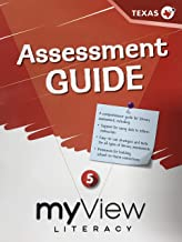 myView Literacy, Assessment Guide 5 - Texas Edition