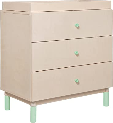 Babyletto Gelato Dresser Knob Set in Cool Mint