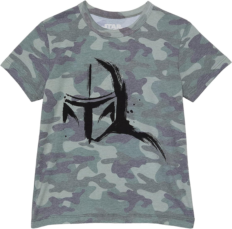 CHASER Boy's Recycled Vintage Jersey Short Sleeve T-Shirt (Little Kids/Big Kids) Camouflage 14 Big Kids