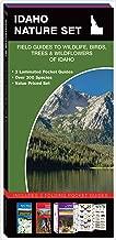 Idaho Nature Set: Field Guides to Wildlife, Birds, Trees & Wildflowers of Idaho