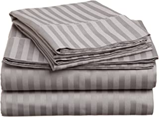 JB Linen Hotel's Collection 400 Thread Count 100% Egyptian Cotton Super Soft 4-Piece Sheet Set King (76