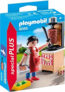 Playmobil Kebab Vendor, Multi-Colour, 9088