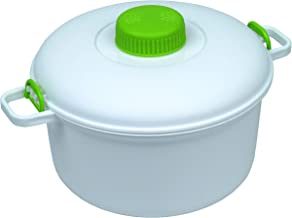Microwave it Microwave Presure Cooker Olla a presión para microondas, Blanco, 27 x 21 x 15 cm