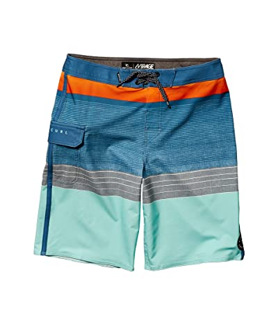 Rip Curl Kids Mirage Horizon Boardshorts (Big Kids) (Orange Popsicle) Boy