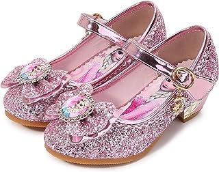 YONIER Principessa Scarpe Festive Scarpe col Tacco da Principessa per Bambina Buona qualità Partito Scarpe Principessa Sca...