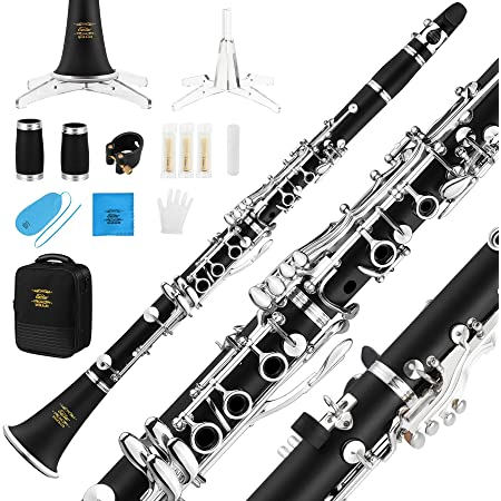 """Miniature Clarinet with Case 5-1//2/"""" Long"""