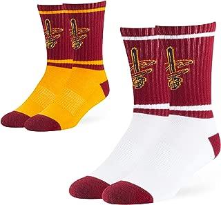OTS NBA Men's Dasher Sport Sock 2-Pack