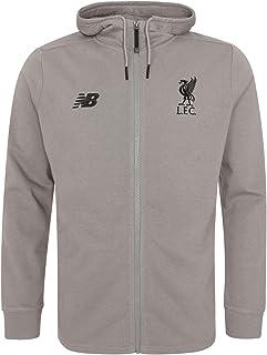f23b10e3aae Liverpool FC Grey Mens Soccer NB Sportswear Hoodies LFC Official