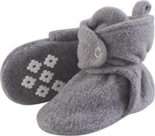e417b6688c7 Little Treasure Baby Boys  Cozy Fleece Booties with Non Skid Bottom