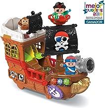 VTech Barco pirata, cazatesoros transformable en isla, incluye 3 figuras, (VTech 80-177822)