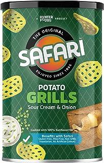 SAFARI Potato Grills Sour Cream & Onion, 100 gm