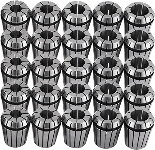 "1//16~5//8/"" ER25 15 PIECE SPRING COLLET SET 3900-5235"