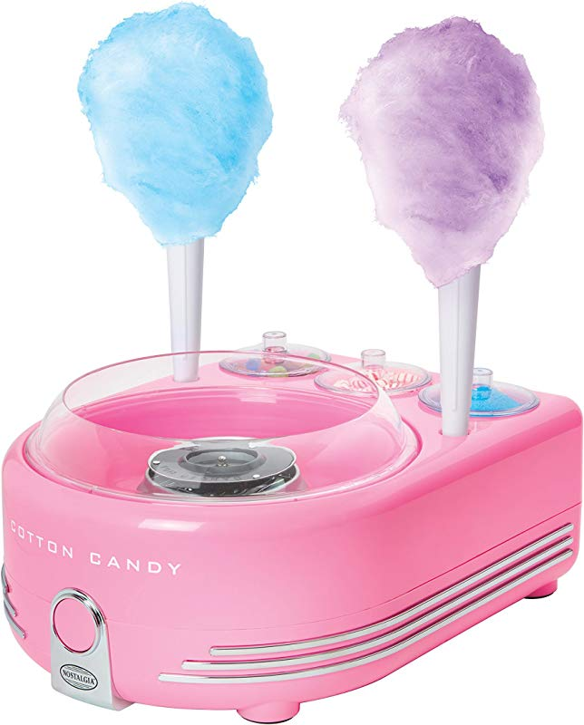 Nostalgia COT5PK Hard Sugar Free Candy Deluxe Cotton Candy Maker