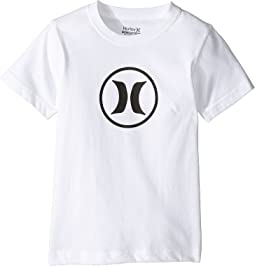 Hurley Kids Dri Fit Icon Tee (Little Kids)