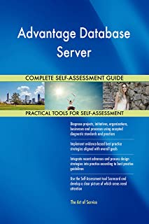 Advantage Database Server Toolkit: best-practice templates, step-by-step work plans and maturity diagnostics