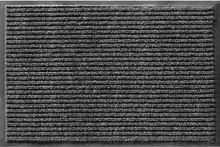 "Apache Mills 043-1902 Rib Onyx Door Mat, 48"" x 72"""