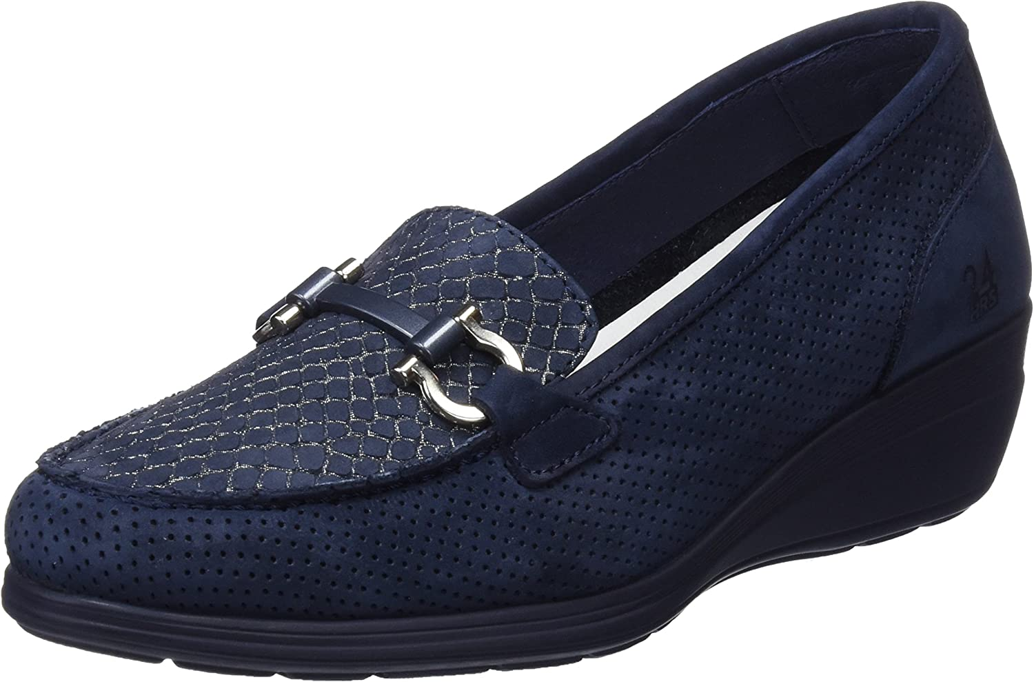 24 Large discharge sale HORAS Max 59% OFF Women's Moccasins