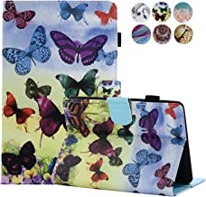 Amazon Kindle Paperwhite Case, MOKASE Slim Leather Kickstand Magnetic Cartoon Case Cover for Amazon Kindle Paperwhite(Fits All 2012,2013,2015,2016 Ver) with Auto Wake Sleep, Colorful Butterfly